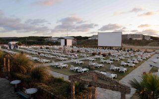 İstanbul'un Tek Plaj Sineması Kilyos'ta Açıldı