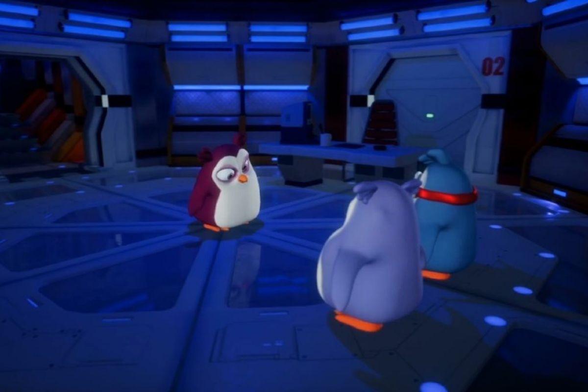 Penguenler Takımı Uzayda