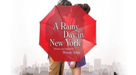 A Rainy Day İn New York