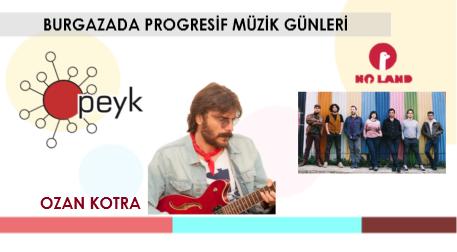 Burgazada Progresif Müzik Günleri: No Land - Ozan Kotra - PEYK