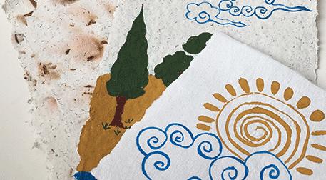 Doğadan Sanat: Tempera Boya Atölyesi - Evde Atölye Kiti / 10-12 Yaş