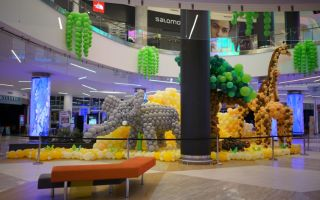 Dünyanın en ünlü balon müzesi Animal Balloon World Metropol İstanbul'da