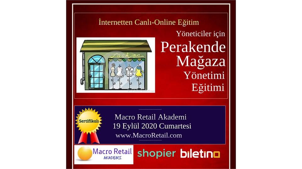 Perakende Mağazacılık Yönetimi Eğitimi (Online-Canlı Eğitim)