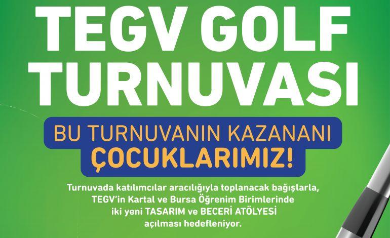 TEGV Golf Turnuvası 10-11 Ekim'de Ataşehir'de…
