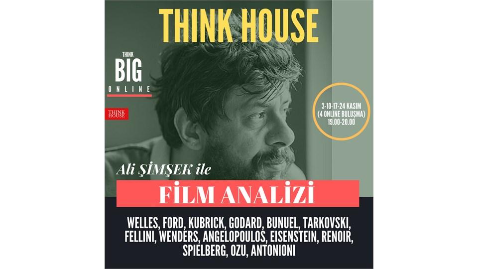 Ali Şimşek ile FİLM ANALİZİ (ONLINE)/3-10-17-24 Kasım