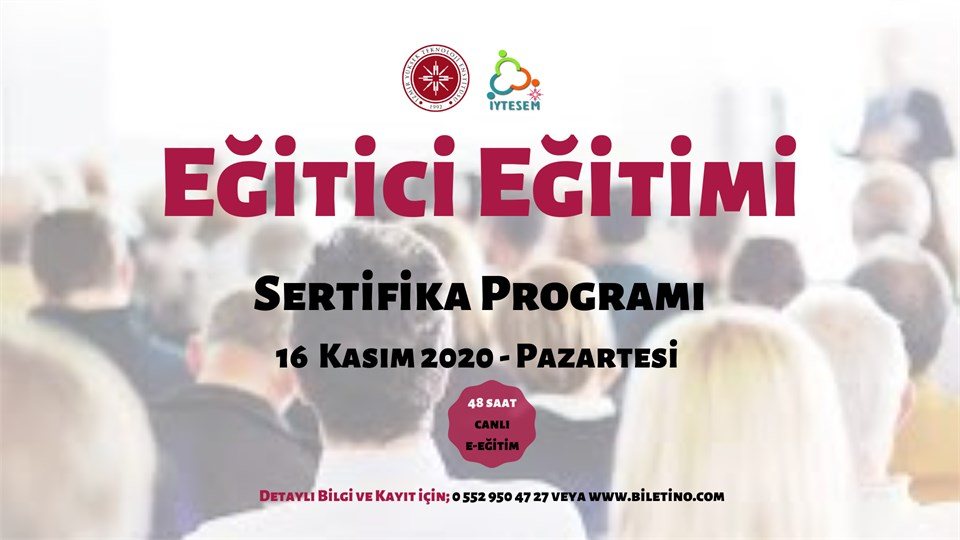Eğitici Eğitimi Sertifika Programı