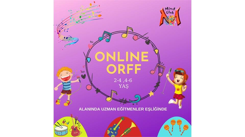 ONLINE ORFF (2-4 YAŞ)