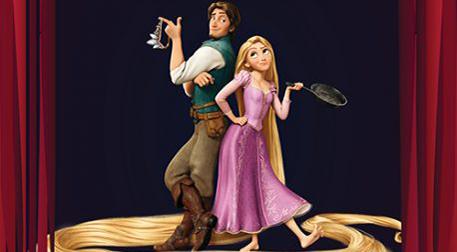 Rapunzel ile Beyaz Atlı Prens