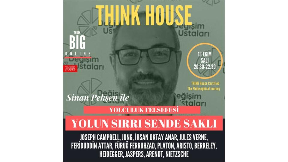 Sinan Pekşen ile Yolun Sırrı Sende Saklı/Yolculuk Felsefesi (ONLINE)/13 Ekim