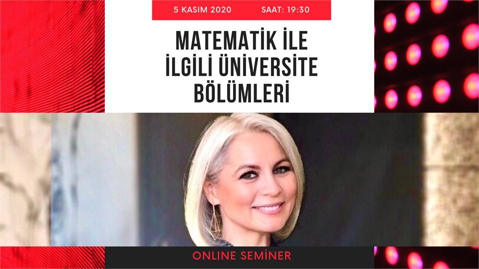 """""""Matematik"""" Seven Öğrencilerin Seçebilecekleri Üniversite Bölümleri"""