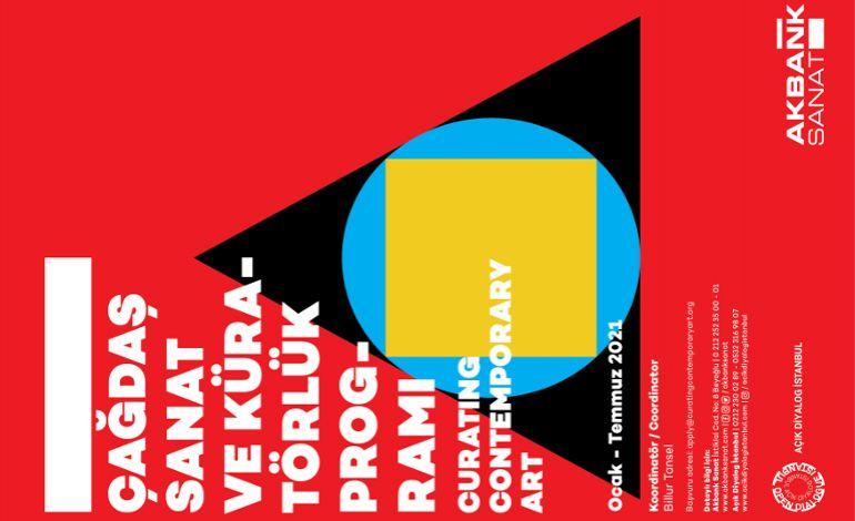 Akbank Sanat Çağdaş Sanat ve Küratörlük Seminer Pprogramı