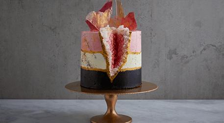 MSA- Geode Cake