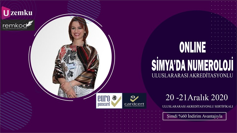 Online Simya 'da Numeroloji