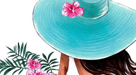 Resim Workshop - Şapkalı Kız