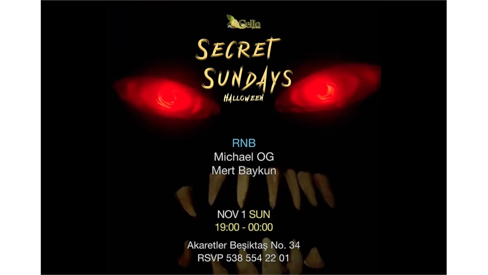 Secret Sundays - Halloween
