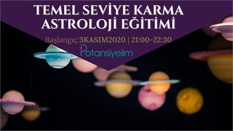 Temel Seviye Karma Astroloji Eğitimi
