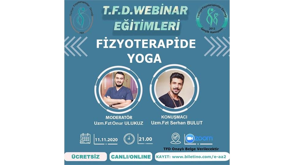 TFD Online Seminerleri | Fizyoterapide Yoga