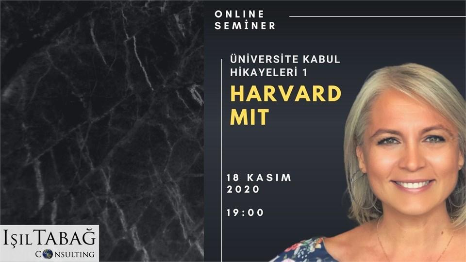 "Üniversite Kabul Hikayeleri 1- ""Harvard & MIT"""