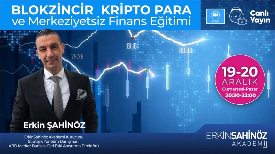 Blokzincir Kripto Para ve Merkeziyetsiz Finans Eğitimi