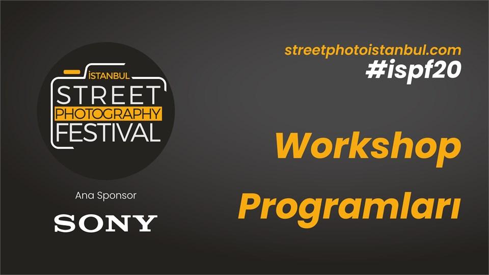 İstanbul Street Photo Festival Workshop Programı & Ödül Töreni 2020