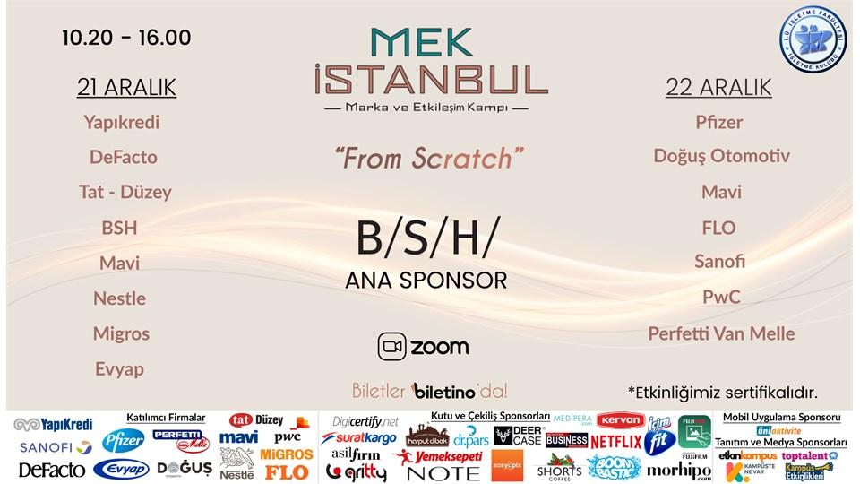 Marka ve Etkileşim Kampı'20 - MEK İstanbul