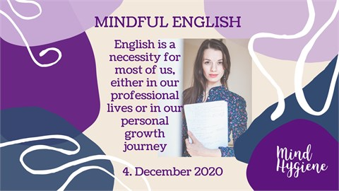 Mindful English learning