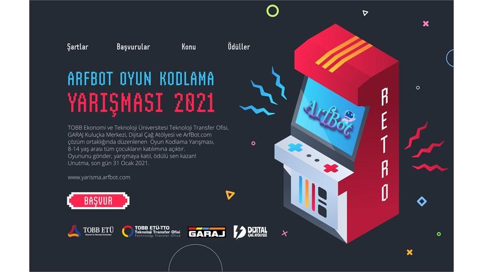 ArfBot   Oyun Kodlama Yarışması 2021