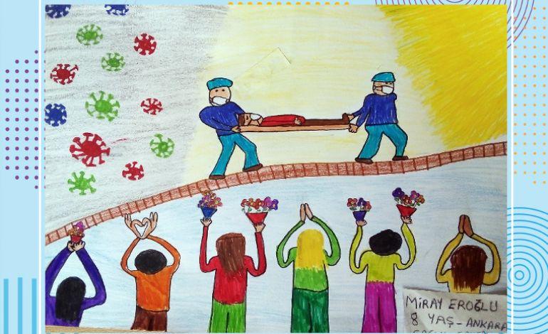 Çocuklarımızın Gözünden Pandemi Süreci Online Resim Sergisi