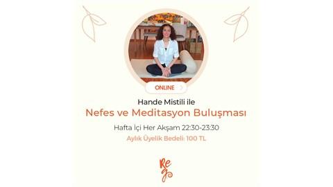 Her Akşam Nefes, Meditasyon, Yoga Salınım Buluşmaları