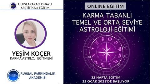Karma Tabanlı Temel ve Orta Astroloji Eğitimi