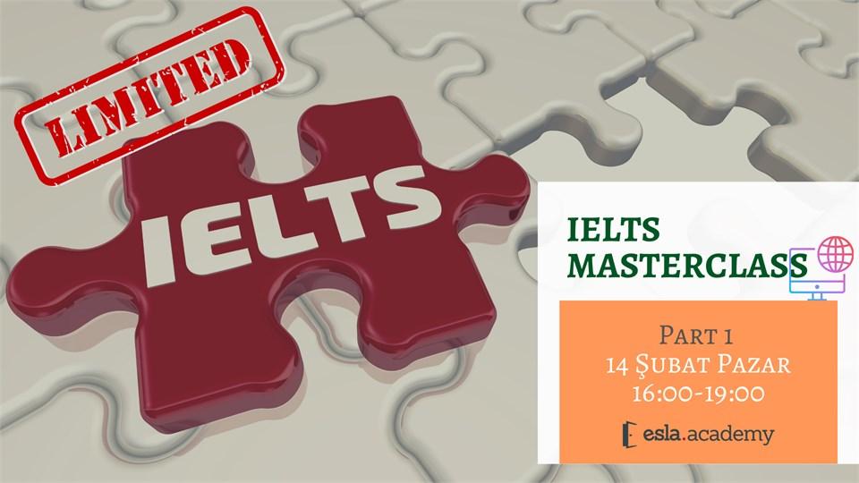 IELTS MasterClass Serisi - 1