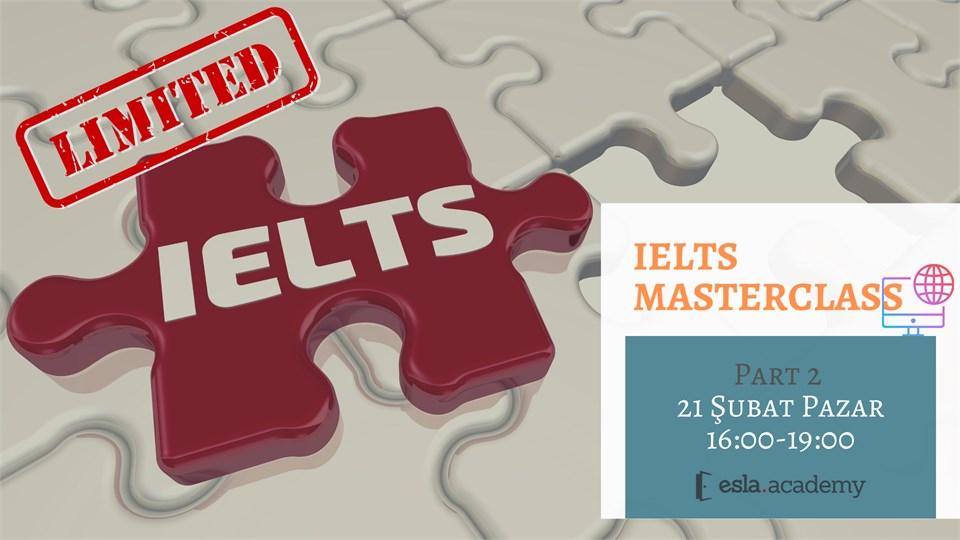 IELTS MasterClass Serisi - 2
