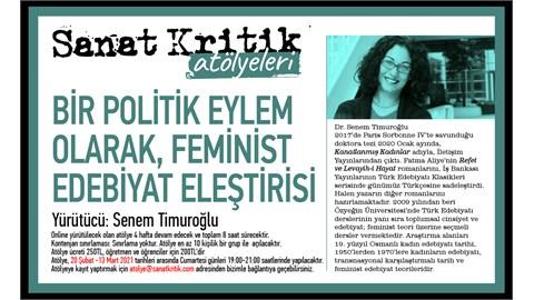 Sanat Kritik-Bir Politik Eylem Olarak Feminist Edebiyat Eleştirisi