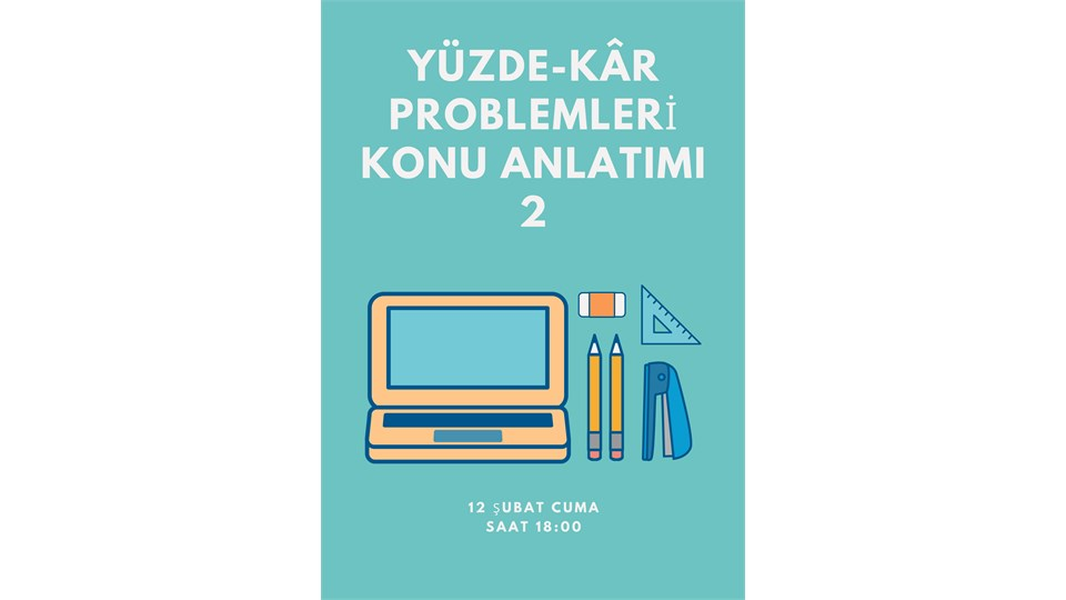 YÜZDE-KÂR PROBLEMLERİ 2
