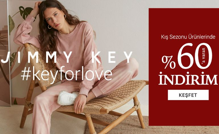 Jimmy Key'den 'Key For Love' Kampanyası