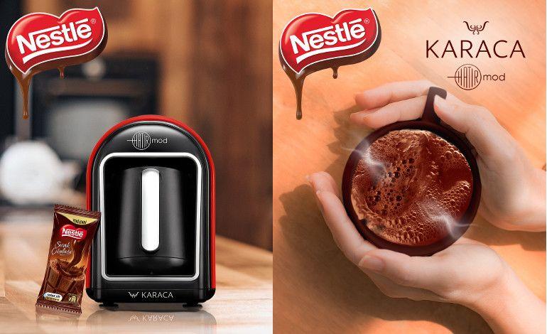 Karaca'nın Hatır Mod Sütlü Türk Kahve Makinesi