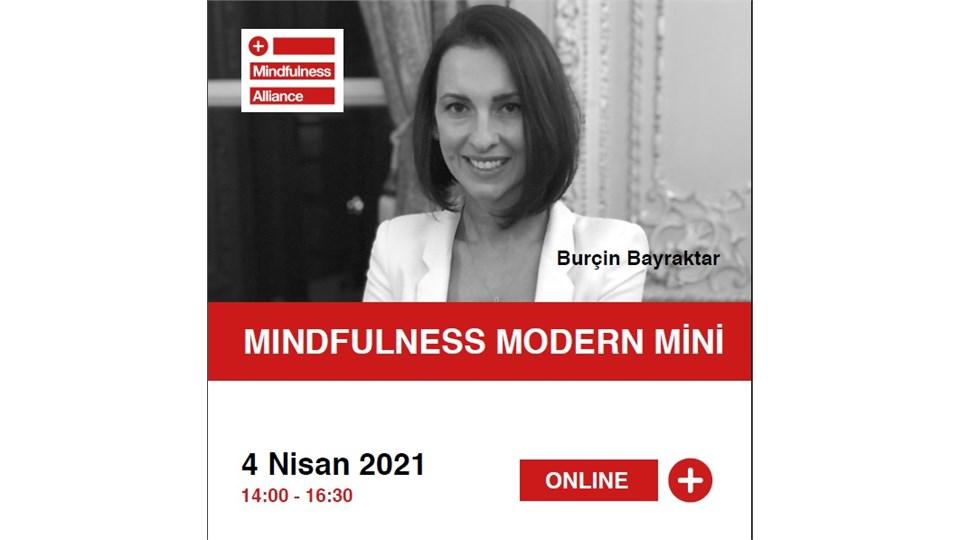 """Burçin Bayraktar ile """"Mindfulness Modern Mini"""" Atölyesi"""