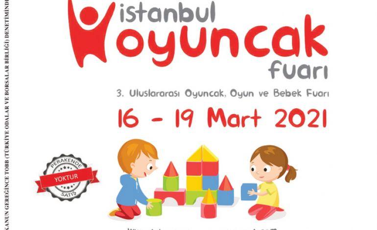 İstanbul Oyuncak Fuarı İçin Geri Sayım Başladı