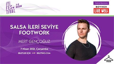 İyi Festival - SALSA İLERİ SEVİYE FOOTWORK