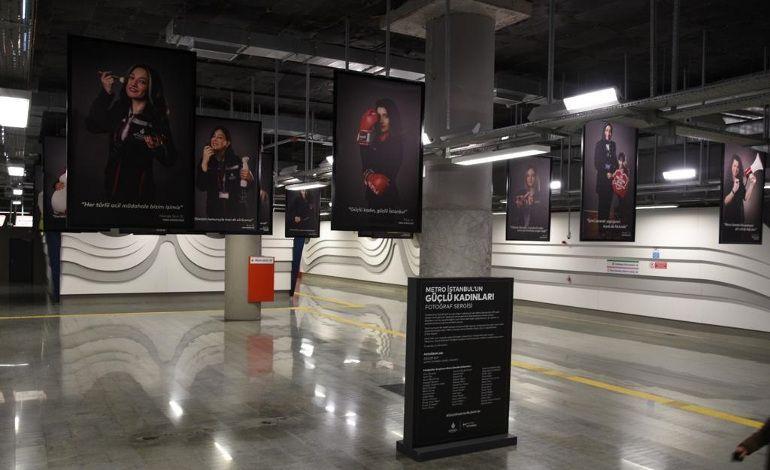 Metronun Güçlü Kadınları Fotoğraf Sergisi