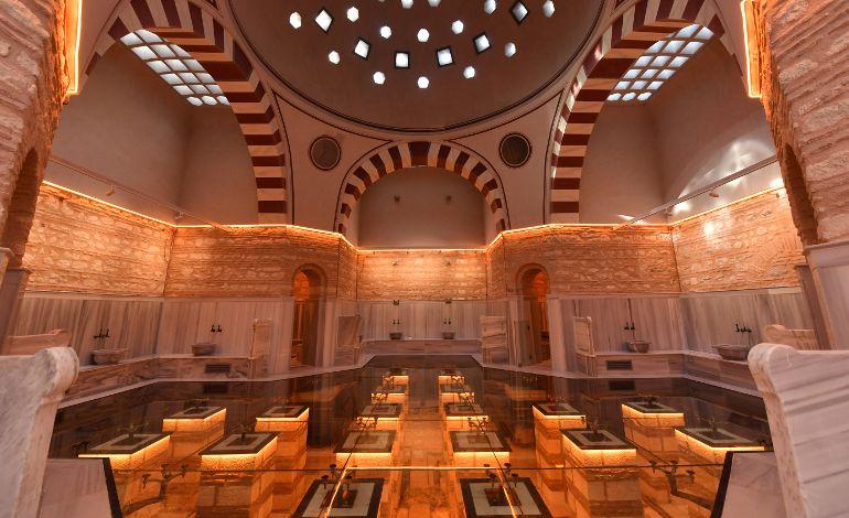Üsküdar Belediyesi Tarihi Selimiye Hamamı'nı İstanbul'un Yeni Kültür Merkezine Dönüştürdü.