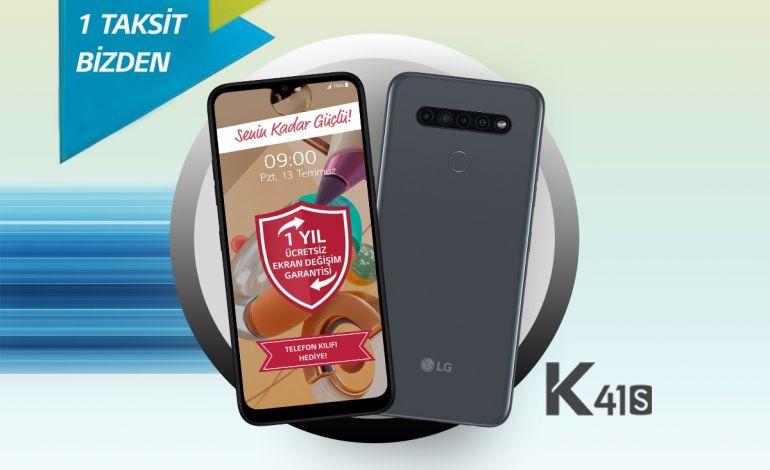 Akıllı Telefon Alacaklara LG'den Muhteşem LG K41s Kampanyası