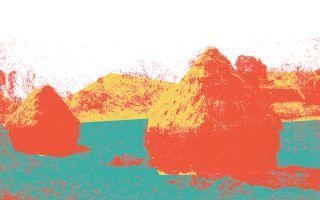 Claude Monet ve Saman Yığınları Atölyesi (5-8 yaş)