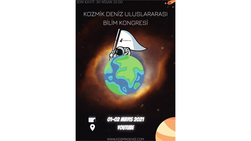 Kozmik Deniz Uluslararası Bilim Kongresi 2021!