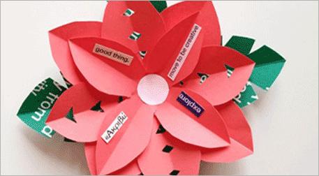 Origami ile 3 Boyutlu Kitap Ayracı
