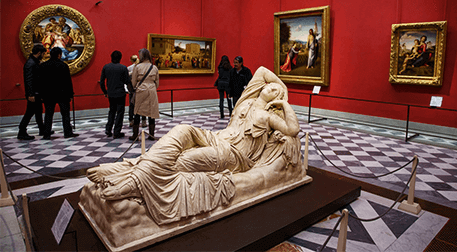 Uffizi Galerisi Sanal Müze Gezisi