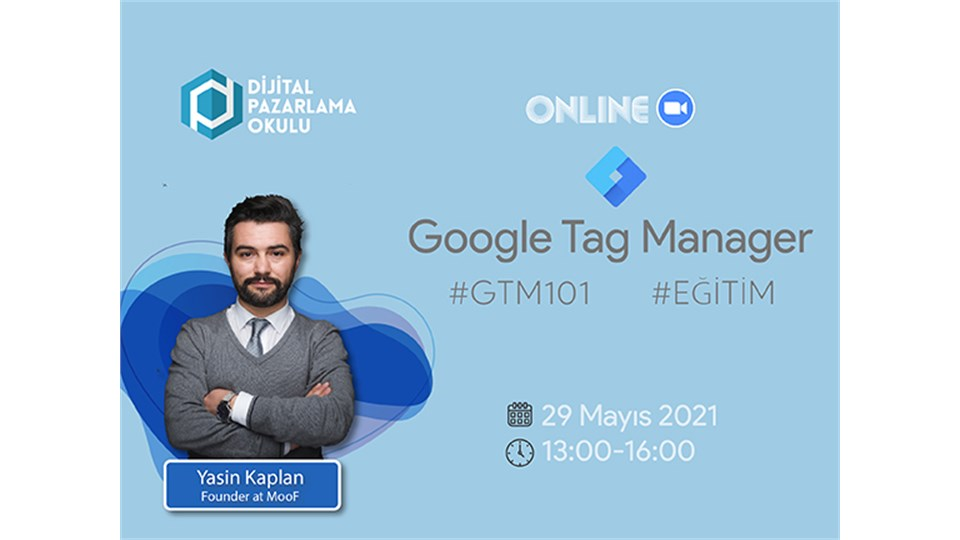 [Online] Google Tag Manager Eğitimi