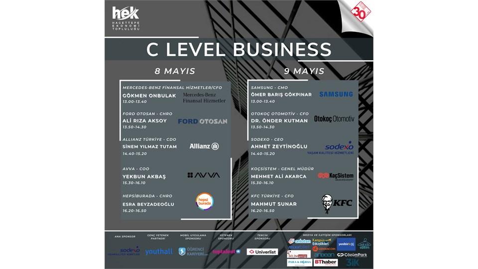 C Level Business