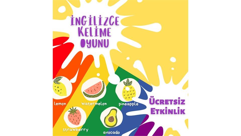 Çocuklarla İngilizce Kelime Oyunu