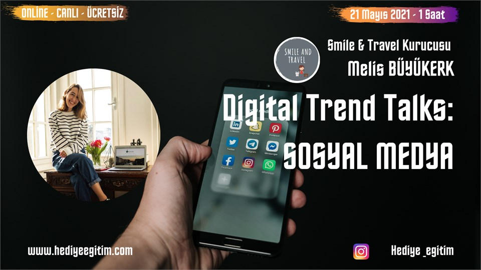 Digital Trends Talk's: Sosyal Medya